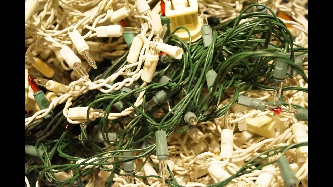 christmas lights replacing fuses