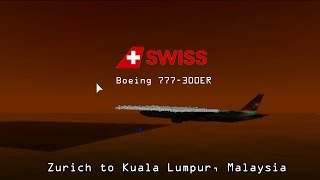[ROBLOX] Swiss International Air Lines| Boeing 777-300ER [1/20/2018]