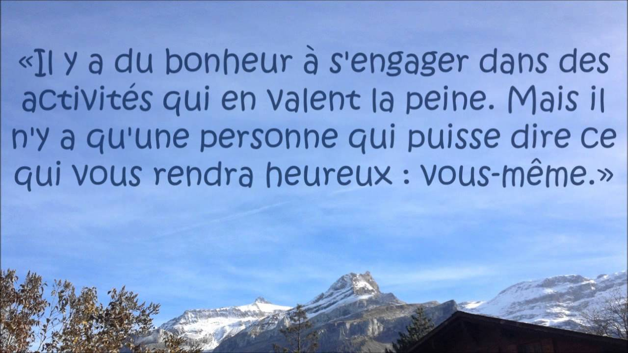 Super Bonheur et philosophie : citations - YouTube AE06