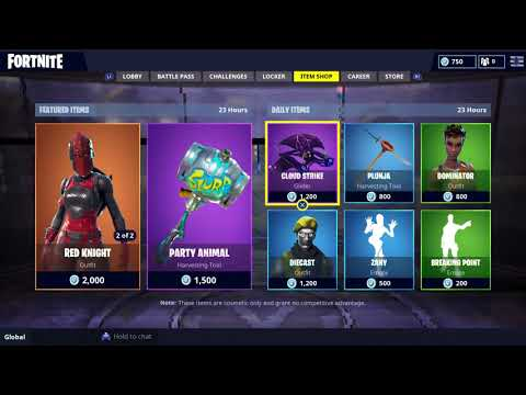 Fortnite - Item Shop August 8th 2018! NEW Daily Item Shop!