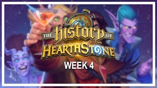 THE HISTORY OF HEARTHSTONE, Week 4 [Full VOD] — A six-week online tournament of nostalgia