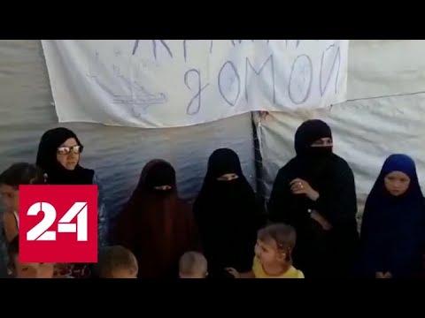 Оказавшиеся в Сирии гражданки Украины тщетно молят о помощи - Россия 24