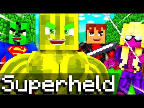 24 STUNDEN SPIELEN als SUPERHELD?! - Minecraft WOLF 2