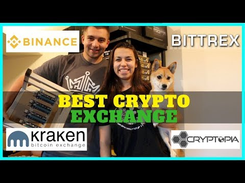 What's the Best Cryptocurrency Exchange right now? Binance, Bittrex, Kraken, and Cryptopia