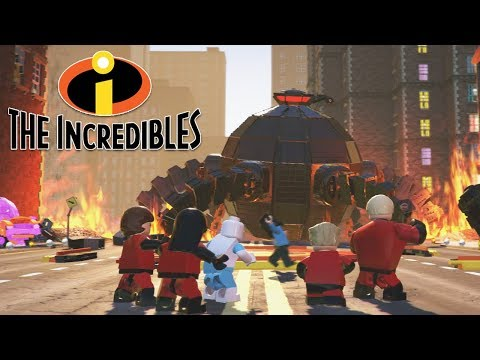 LEGO THE INCREDIBLES All Boss Fights & Ending + Secret Ending