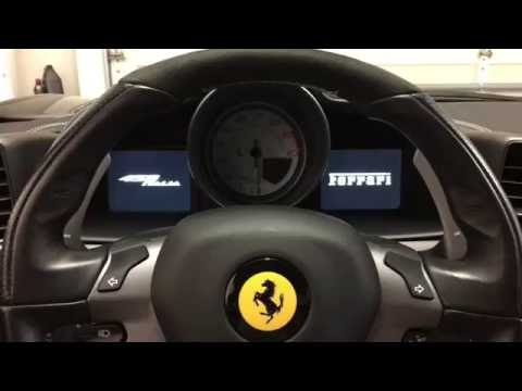 Ferrari 458 dash board menu button controls - for Bill