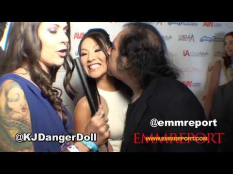 [JAV STAR] Ron Jeremy/Asa Akira:  Red Carpet Interview Sex Awards 2013