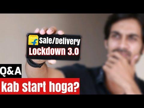 Flipkart Amazon E-commerce SALE & DELIVERY ⚡ kab START hoga? Non-essential Q&A | LOCKDOWN 3.0
