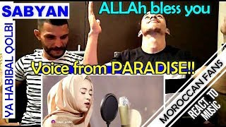 Arab React To | YA HABIBAL QOLBI versi SABYAN || MOROCCAN REACT