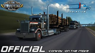FTG UNITED LOGISTICS CONVOY | SOUTH TO CALI | TRUCKERSMP EPIC CONVOY