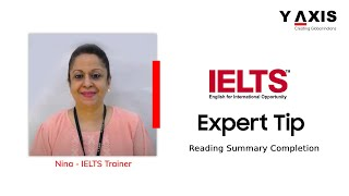 Reading Summary Completion - IELTS