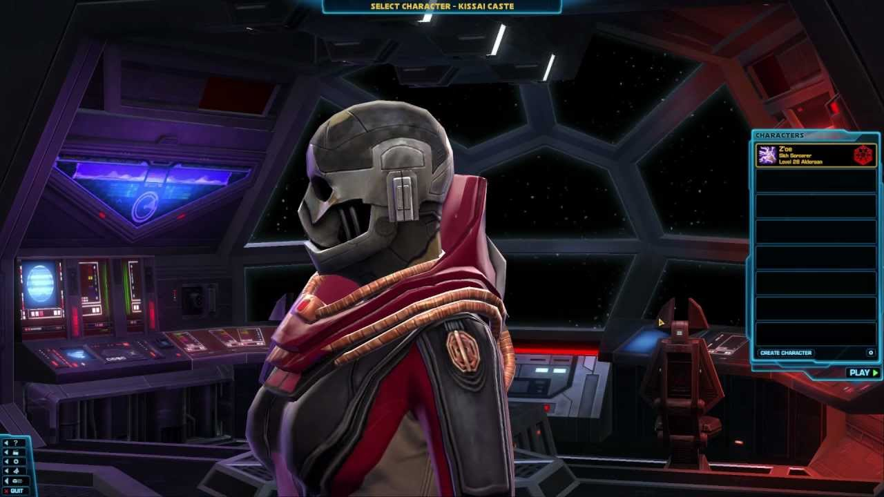 Swtor female twi lek sith inquisitor showing two different helms