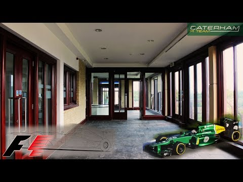 ABANDONED Caterham FORMULA 1 HEADQUARTERS - URBEX