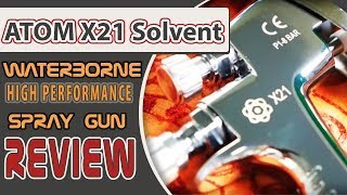 A quick review on the ATOM X21 Professional Spray Gun! Become a DIY...
