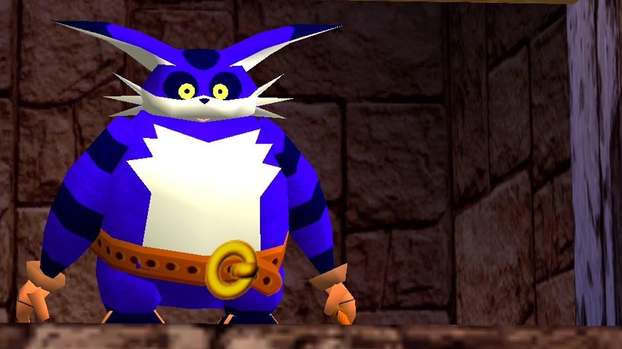 Big the Cat in Sonic Adventure 2 cutscene - Before Egg Golem Fight ...