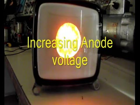 CRT cathode emission