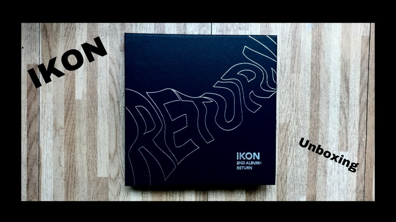 IKON- Return unboxing (아이콘)