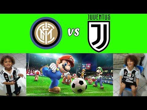⚽ INTER vs JUVENTUS ⚽ Mario Sonic Calcio
