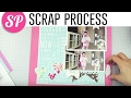 Scrapbook Process Runaway Girls Layout | Freckled Fawn, Pink Paislee, Pebbles