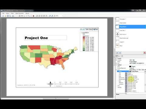 Introduction to GIS 3: Map Labels and Layouts