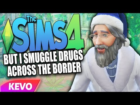 Sims 4 but I smuggle drugs over the border