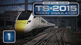Ruszyła maszyna po szynach :P - Train Simulator 2015 #1 Kontynuacja