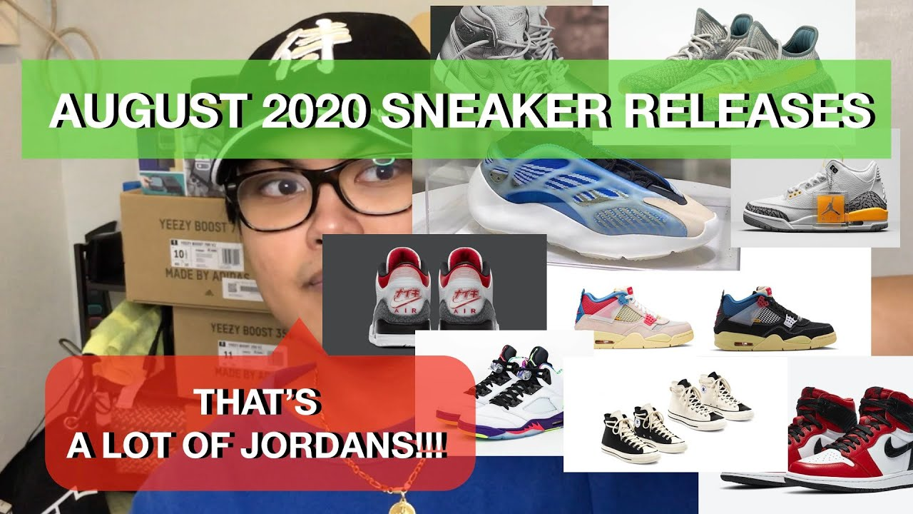 MOST HYPED SNEAKER RELEASES FOR AUGUST
