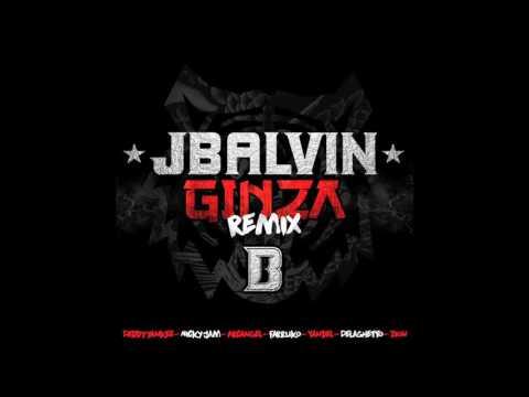 Ginza Remix Audio  Nicky jam,J Balvin,Farruko,Yandel,De la ghetto,Arcangel,zion,daddy yankee