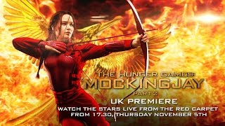 LIVE: The Hunger Games: Mockingjay - Part 2 UK Premiere