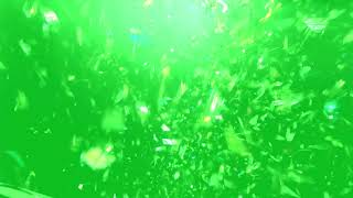 Green Screen Paper Blast Particles Effects