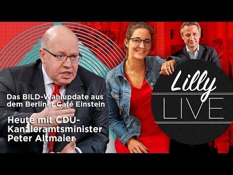 Lilly Live Folge 2. - Heute beim Frühstück CDU-Kanzleramtsminister Peter Altmaier
