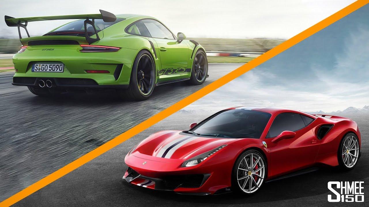 488 Pista vs GT3 RS vs Aventador SVJ | GENEVA MOTORSHOW