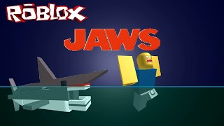 """Escape From the Shark !!! / Roblox """" Jaws """""""