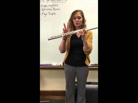 Major Duple for Flute in Bb Do