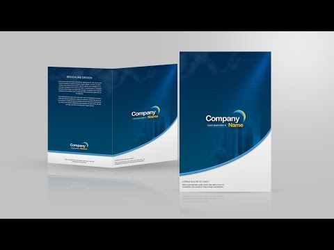 Design a Two Fold Brochure In Photoshop