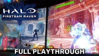 Halo: Fireteam Raven - Full Playthrough (ft. VallumDominatio & The Auralist)