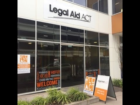 'Lawyers in Colleges' Legal Aid ACT