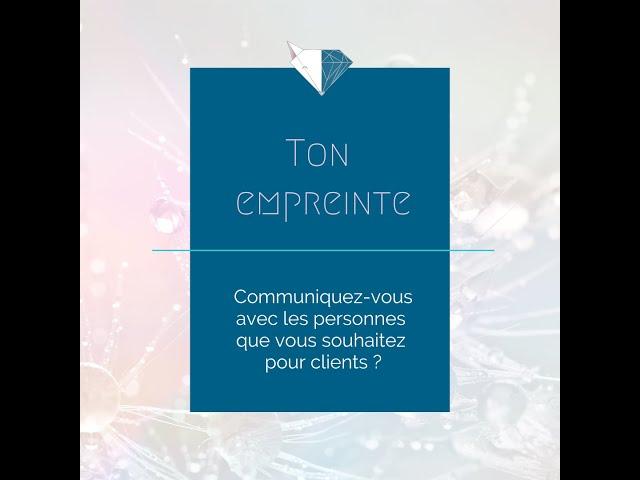 🦊 Communiquez vous avec les personnes que vous souhaitez pour clients ?