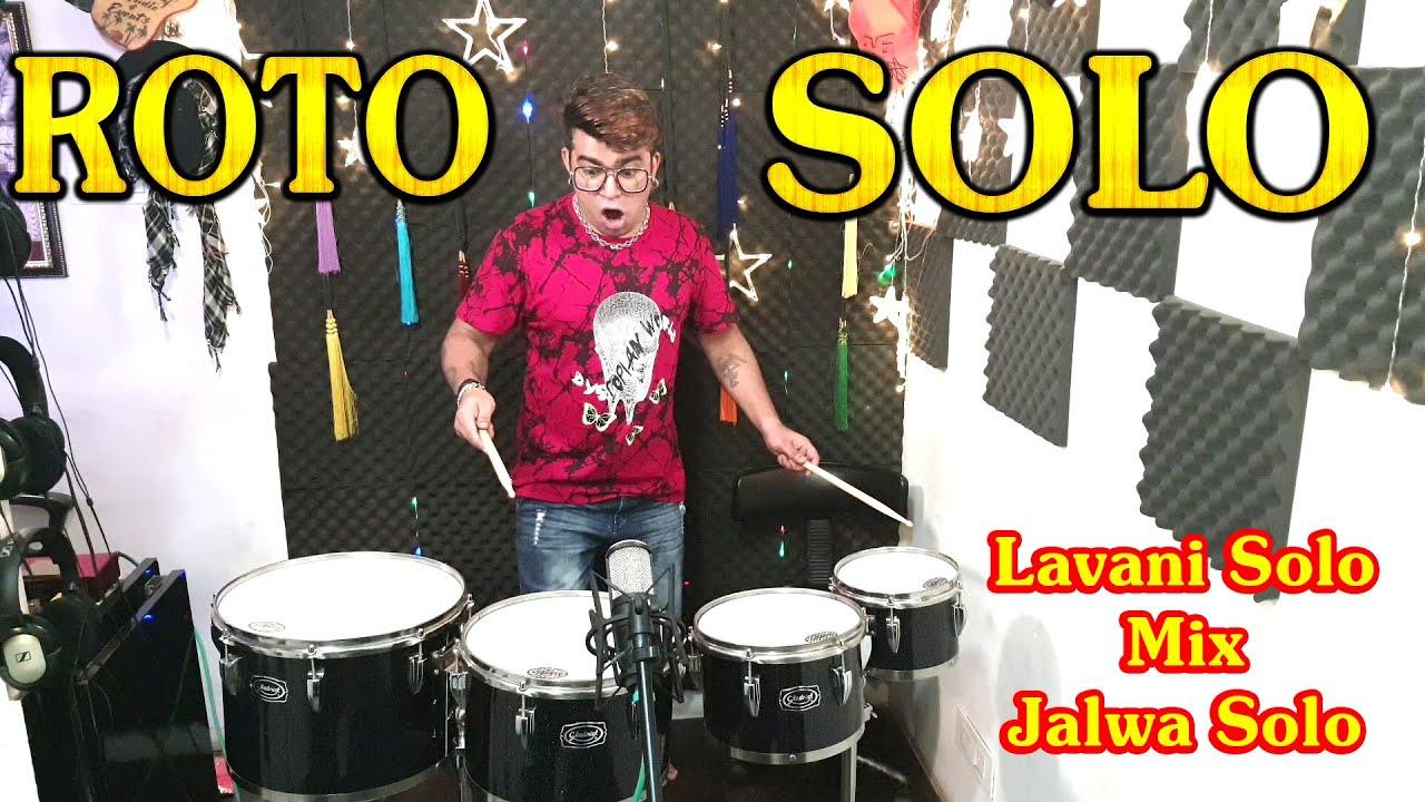 ROTO SOLO Performance | Lavani Solo Mix Jalwa Solo | Janny Dholi