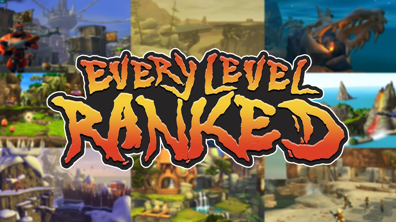 Every Jak & Daxter Level RANKED! - 82 Levels from Worst to Best