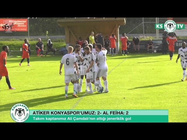 Takım kaptanımız Ali Çamdalı'nın jeneriklik güzel golü