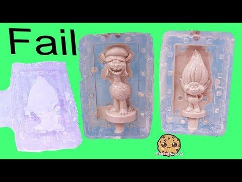 Plaster Fail ! Making My Own Dreamworks Trolls - DIY Painting Craft Video