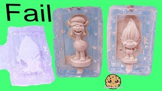 Plaster Fail ! Making My Own Dreamworks Trolls - DIY Painting Craft Video