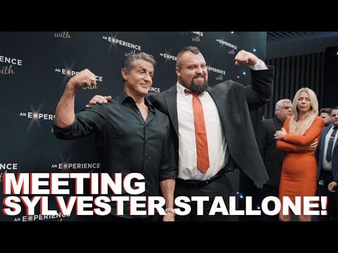 MEETING SYLVESTER STALLONE!