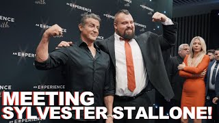 MEETING SYLVESTER STALLONE!