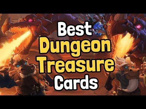 Ranking the Playable Dungeon Run Treasure Cards - Hearthstone