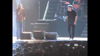 Rock And Roll NEVER Forgets Bob seger and Kid Rock at the x in St Paul March 15 2013