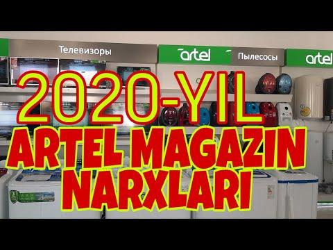 Artel magazindagi 2020-yil NARXLARI