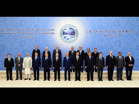 Ташкентский саммит Шанхайской организации сотрудничества (23-24 июня 2016 года)
