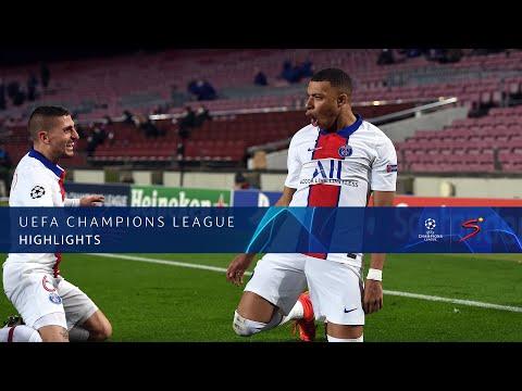 UEFA Champions League | Barcelona v Paris Saint-Germain | Highlights